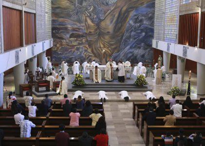 Seminario Mayor MG celebra misa de Ordenación diaconal de cuatro seminaristas, 2021