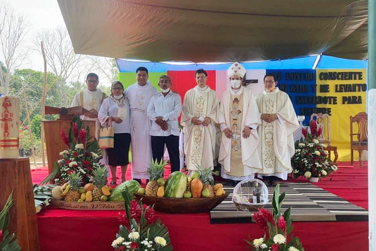 Obispo de Tabasco preside ordenación sacerdotal del misionero Jorge Luis Montero García