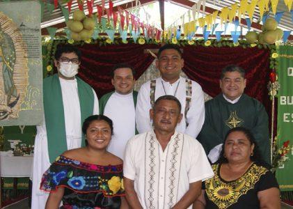 Juan Pablo de la Rosa Miranda, MLA, celebra su misa de envío a la Misión de Brasil